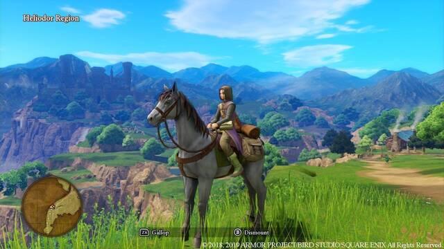 Australia recoge Dragon Quest XI S en el registro de clasificación por edades