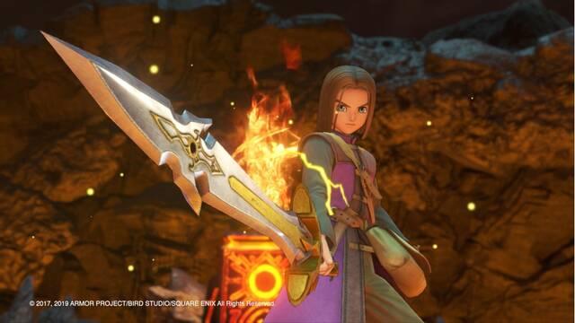 Dragon Quest XI para Switch está terminado en su versión japonesa