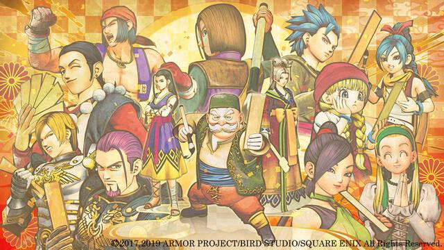 Nuevas imágenes de Dragon Quest XI en su versión para Nintendo Switch