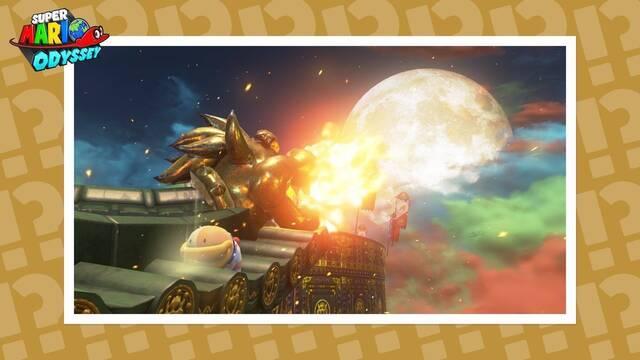 Más pistas artísticas para Super Mario Odyssey
