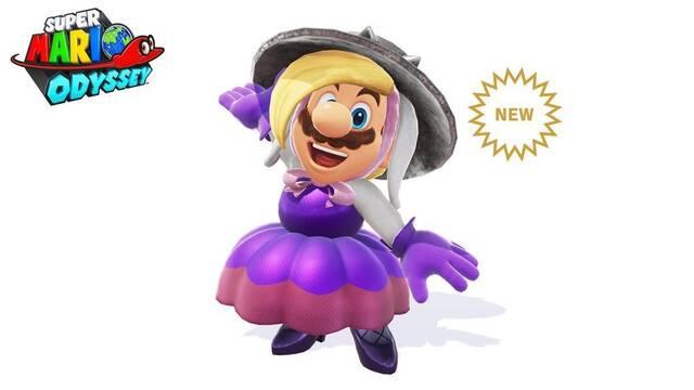 Mario ya puede conseguir el traje de Harriet en Super Mario Odyssey