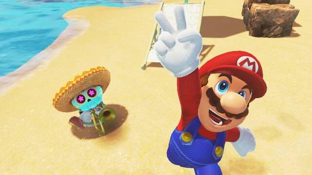 Super Mario Odyssey ha reducido sus tiempos de carga