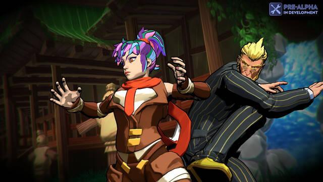 El videojuego de lucha Fantasy Strike llega al Acceso Anticipado de Steam