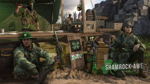 Call of Duty: WWII anuncia el evento Operation: Shamrock & Awe