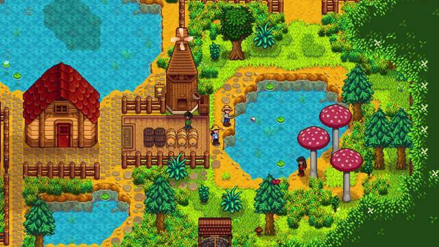 El multijugador de Stardew Valley llegará el próximo mes