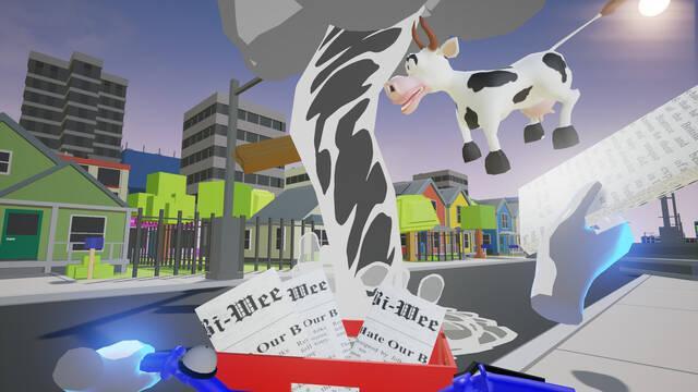 Special Delivery, un Paperboy para realidad virtual, llegará a PS4