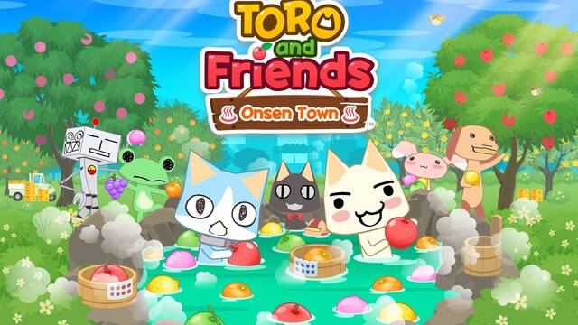 Toro and Friends: Onsen Town en Occidente