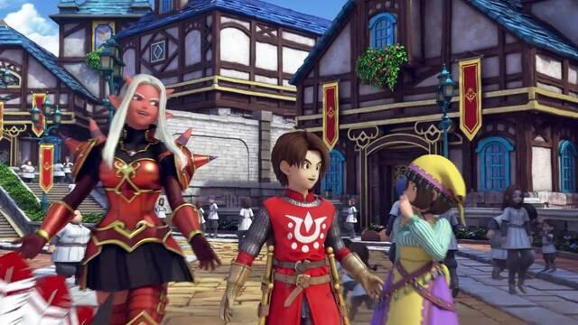 Dragon Quest X recibirá este mes en Japón la actualización 4.1