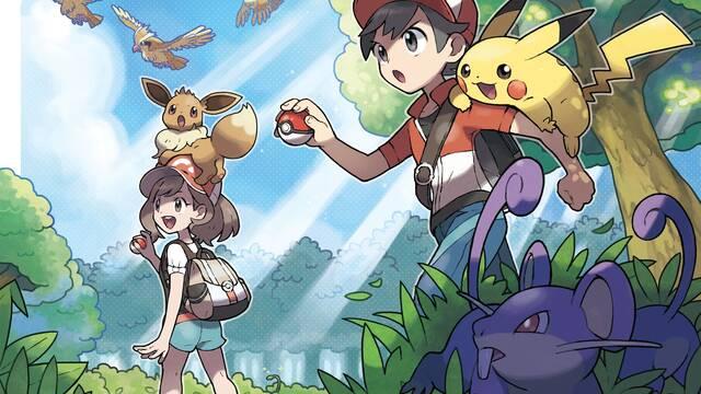 Cómo subir de nivel rápidamente en Pokémon Let's Go Pikachu / Eevee