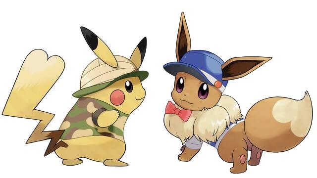 Cómo conseguir a Eevee y a Pikachu en Pokémon Let's Go