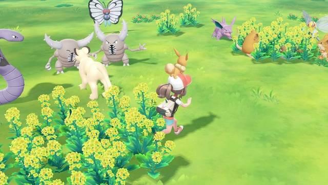 Diferencias entre Pokémon Let's Go Eevee / Pikachu y Pokémon exclusivos
