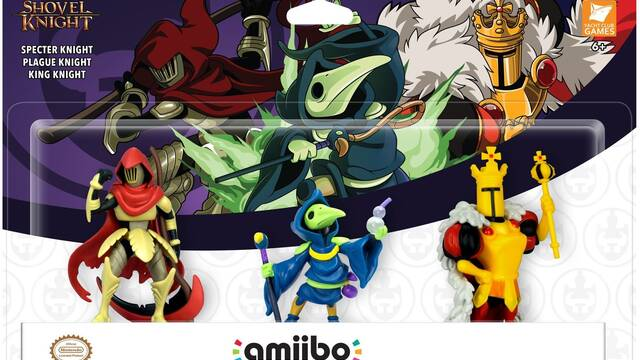 Presentadas nuevas figuras amiibo de Shovel Knight