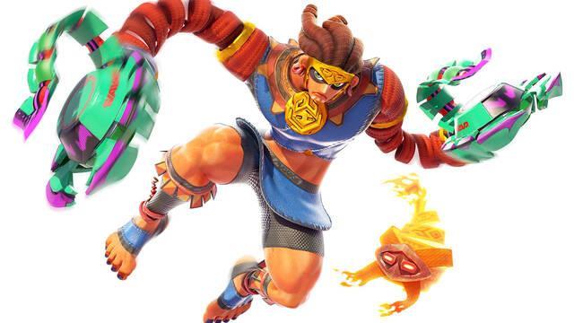 Así es Misango, el nuevo luchador de ARMS