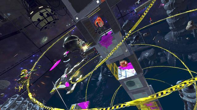 Nintendo nos enseña cómo superar el nivel Octozeppelin Invasion de Splatoon 2