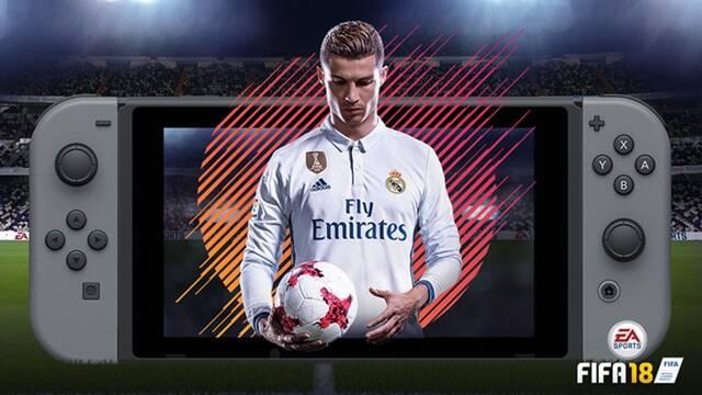FIFA 18 en Switch tendrá mejoras en la inteligencia artificial