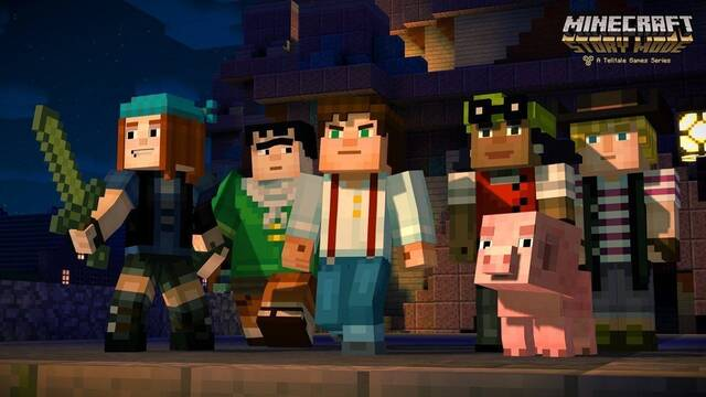 Minecraft: Story Mode - La aventura completa llegará a Switch en julio
