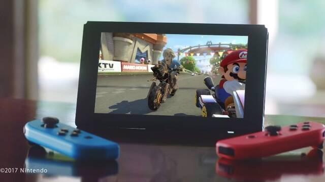 La mitad de los usuarios de Switch americanos compran Zelda, MK8 y Odyssey