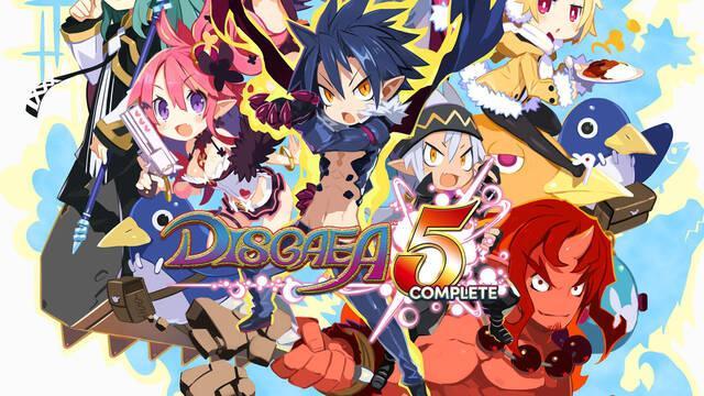Ya disponible en Europa la demo de Disgaea 5 Complete
