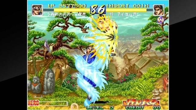 Hamster Corporation trabaja en un parche para los juegos de Neo Geo en Switch