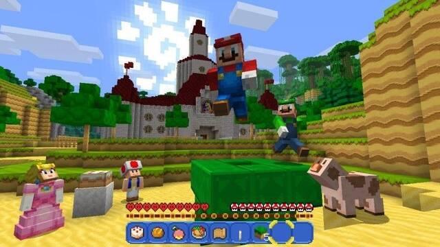 Minecraft en Nintendo Switch usará Xbox Live