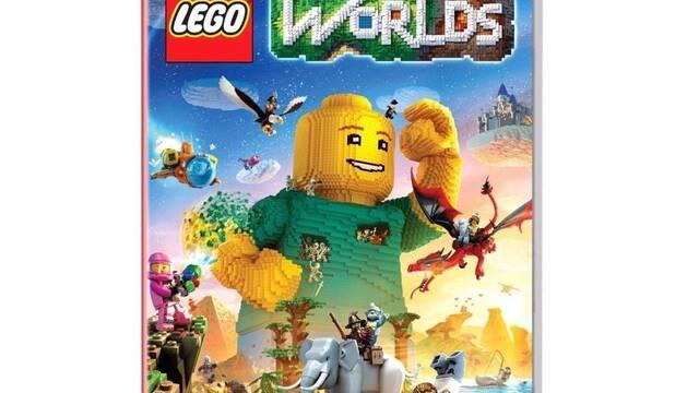 Así será la portada de LEGO Worlds en Nintendo Switch