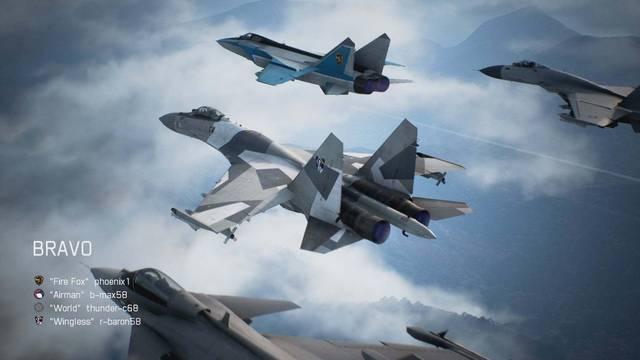 Así es el caza Su-34 de Ace Combat 7: Unknown Skies