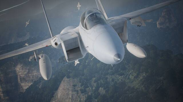 Ace Combat 7: Skies Unknown muestra su modo de realidad virtual para PS VR