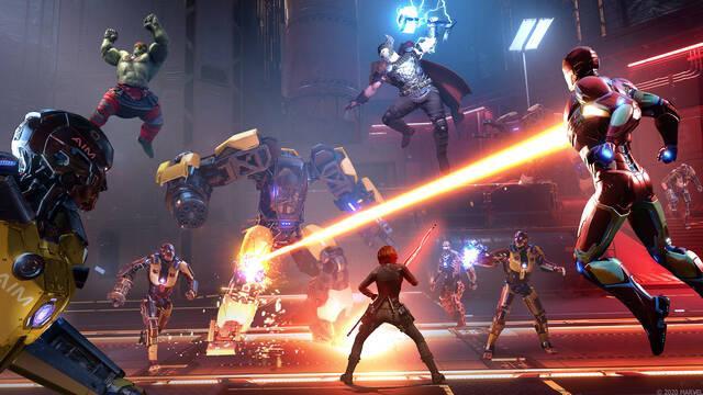 Marvel's Avengers pocos jugadores cooperativo online