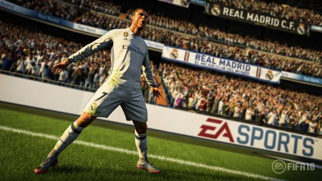 FIFA 18 fue el más vendido la última semana en Reino Unido