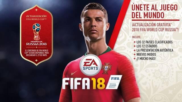 Ventas España: FIFA 18 es número uno tras la actualización del mundial