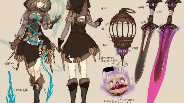 SINoALICE, el nuevo juego de Yoko Taro, se muestra en ilustraciones
