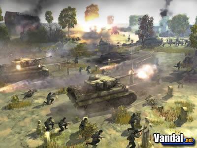 E3: Nuevas imágenes de Company of Heroes