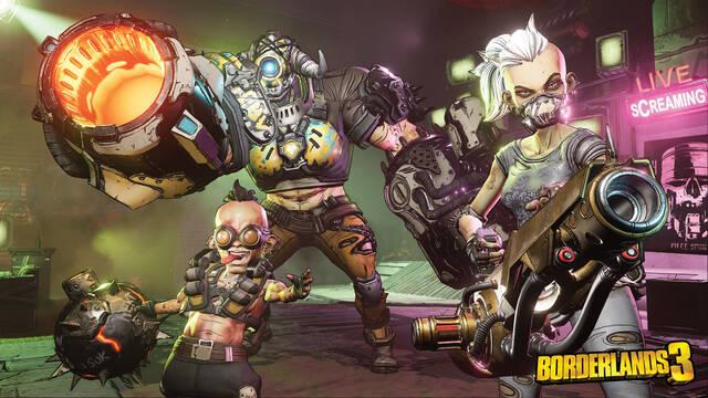 Borderlands 3 detalla las características de las armas