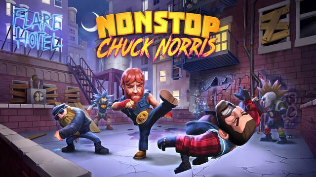 Las patadas voladoras llegan a los dispositivos móviles con Nonstop Chuck Norris