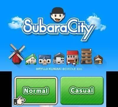 Circle anuncia la versión europea de SubaraCity para Nintendo 3DS