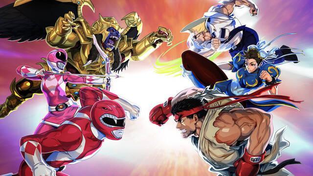 Power Rangers Legacy Wars da la bienvenida a personajes de Street Fighter