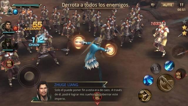 Dynasty Warrior: Unleashed alcanza los cinco millones de descargas