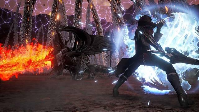 Code Vein DLC Hellfire Knight fecha de lanzamiento