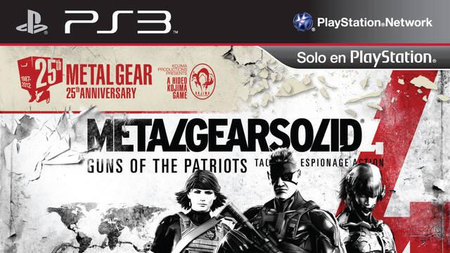 Metal Gear Solid 4: Guns of the Patriots llegará a PlayStation Store el 17 de diciembre