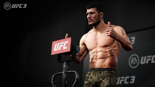 Primeras imágenes y portada de UFC 3