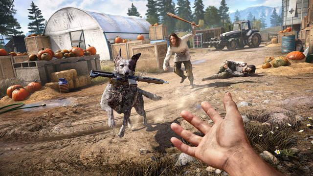 Far Cry 5 muestra más del uso del perro como compañero en vídeo