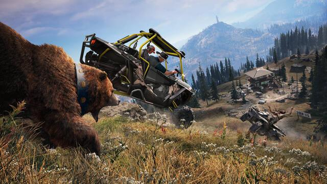 Far Cry 5 supera 340.000 unidades en tres días en Steam