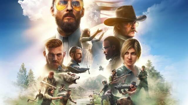 Far Cry 5 para PS4 fue el juego más vendido de España en el mes de marzo