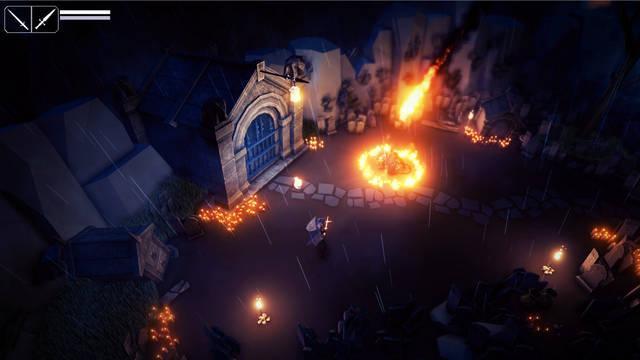 Explora mazmorras en Fall of Light, un nuevo juego para PC