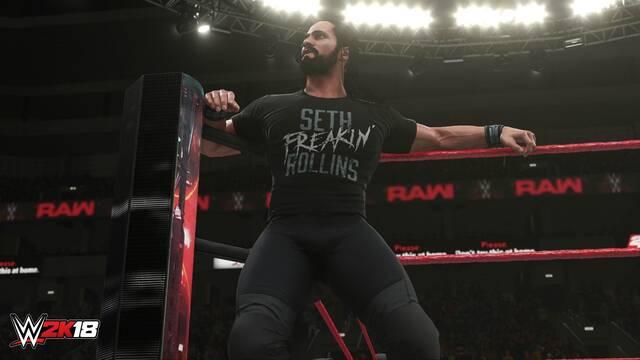 Nos presentan el aspecto visual y mejoras realizadas en WWE 2K18