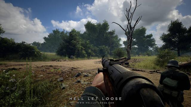 Hell Let Loose, ambientado en la Segunda Guerra Mundial, comienza su Kickstarter