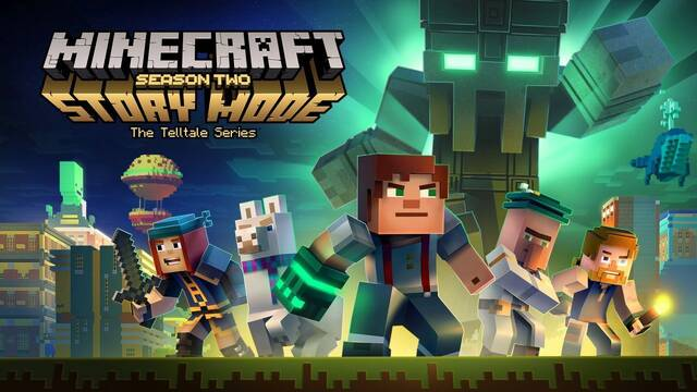 Minecraft Story Mode Season 2 llega a Switch el 10 de agosto