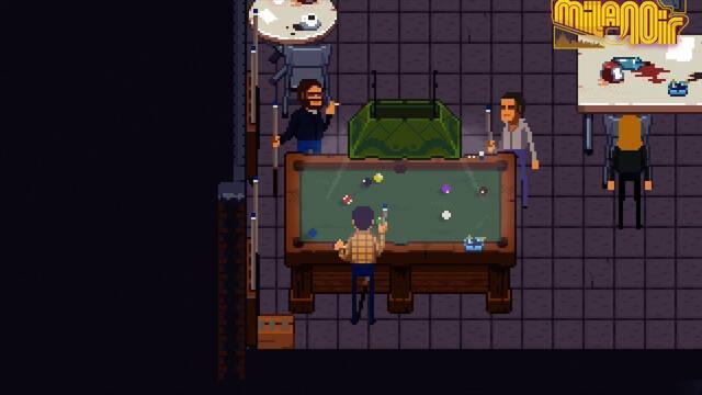 Milanoir, juego inspirado en el cine policiaco de los 70, llegará a Switch