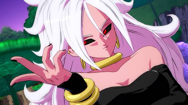 Majin Androide 21 Dragon ball FighteRZ