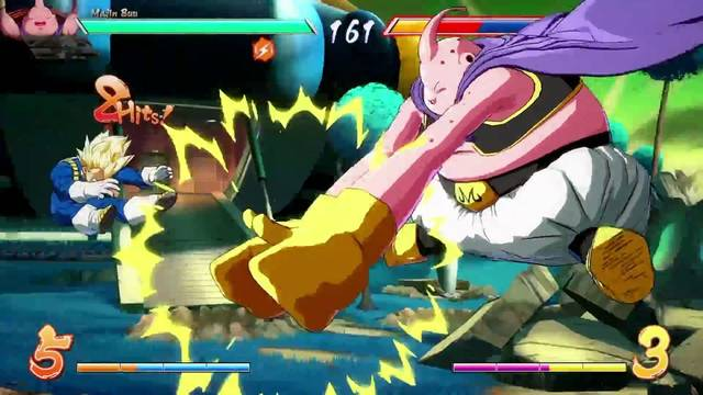 Consejos para luchar con Majin Buu en Dragon Ball FighterZ